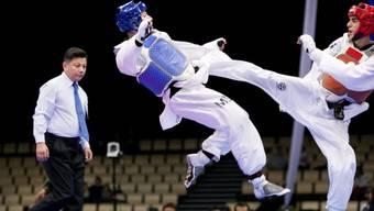 In Singapur kams im Taekwondo-Wettkampf zum politischen Eklat
