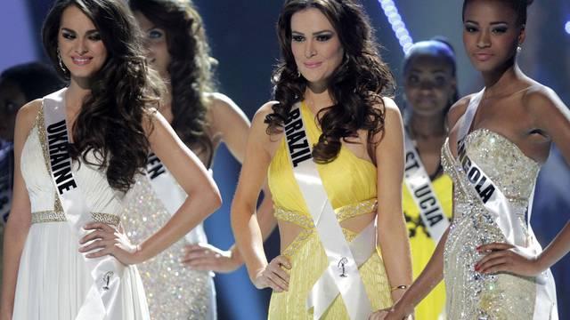 Finalistinnen der Miss- Universe-Wahlen 2011 in Brasilien (Archiv)