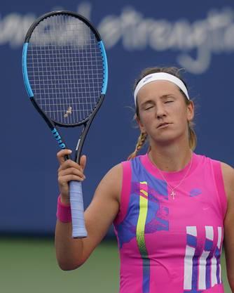 Tennisspielerin Victoria Azarenka will einfach, dass es aufhört.
