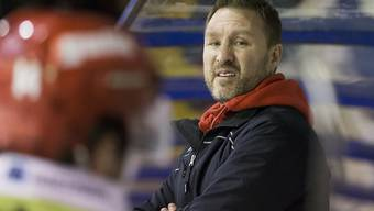 Trainer Jeff Tomlinson ist mit Rapperswil-Jona auf Kurs