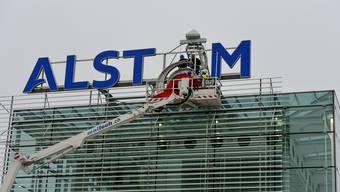 Aus Alstom wird in Baden General Electric