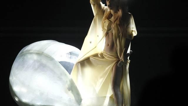 Skurile Kleidung ist das Markenzeichen von Lady Gaga