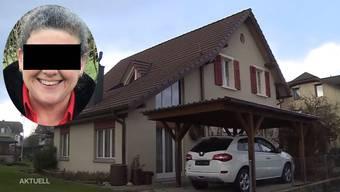 Täterin und Haus an der Metzgergasse in Derendingen