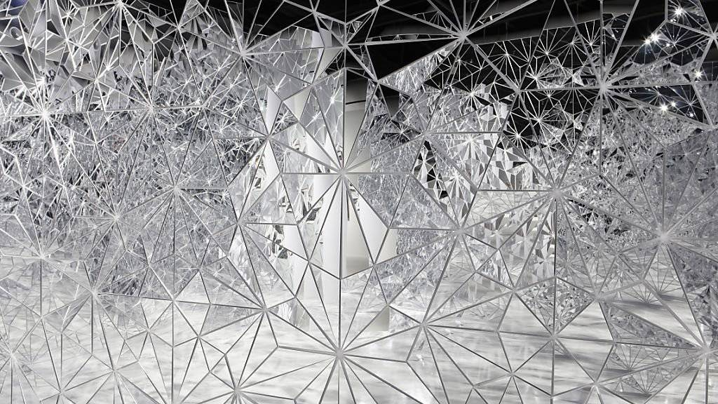 """Das Werk """"Florenz-Bagdad"""" (2016) von Timo Nasseri ist vom 7. Februar bis 5. Mai 2019 im Haus Konstruktiv in der Ausstellung """"Konkrete Gegenwart. Jetzt ist immer auch ein bisschen gestern und morgen"""" zu sehen."""