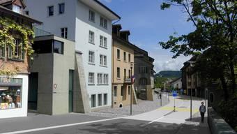 Brugger Vorstadt: Sicherheit ist bei der Neugestaltung oberstes Gebot.