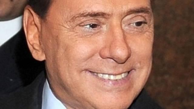 Der italienische Ministerpräsident Silvio Berlusconi