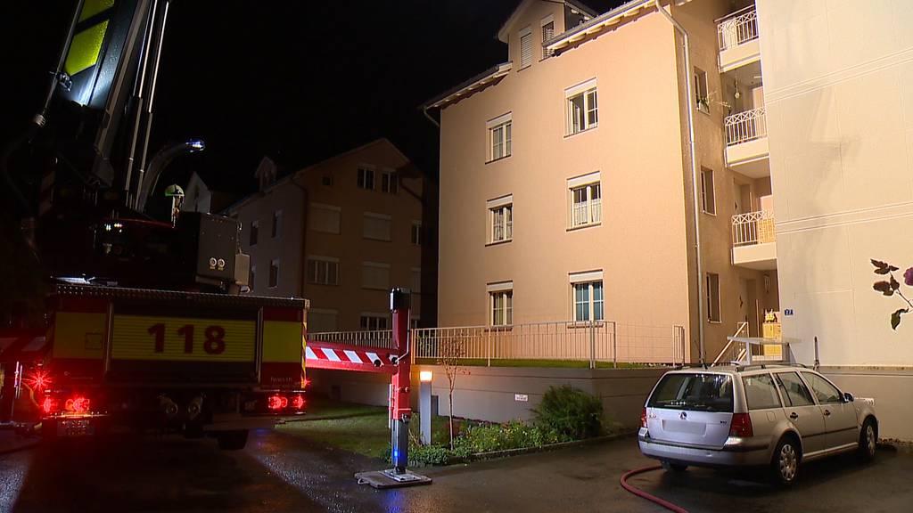 71-Jährige stirbt bei Zimmerbrand in Buchs (SG)