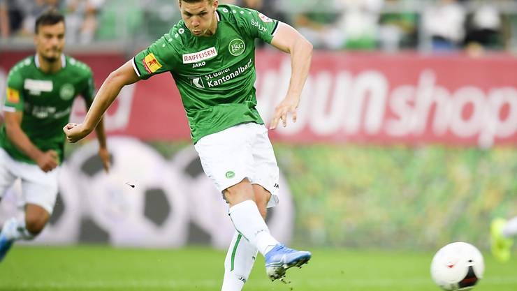 St. Gallens Stürmer Cedric Itten erhält erstmals ein Aufgebot für die Schweizer Nationalmannschaft