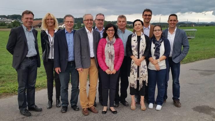 10 Nationalratskandidatinnen und Kandidaten und eine JCVP-Kandidatin haben am Wahlfest teilgenommen.