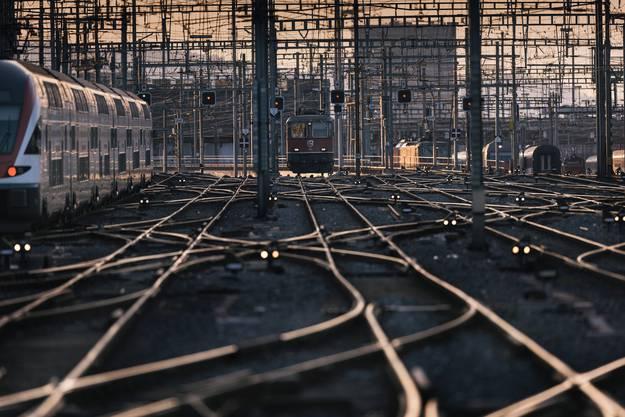 Verspätungen auf dem Schweizer Schienennetz häufen sich.