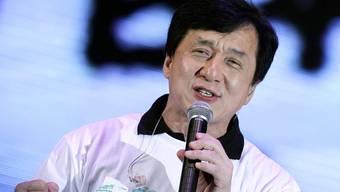 Jackie Chan an der Benefiz-Gala in Hongkong
