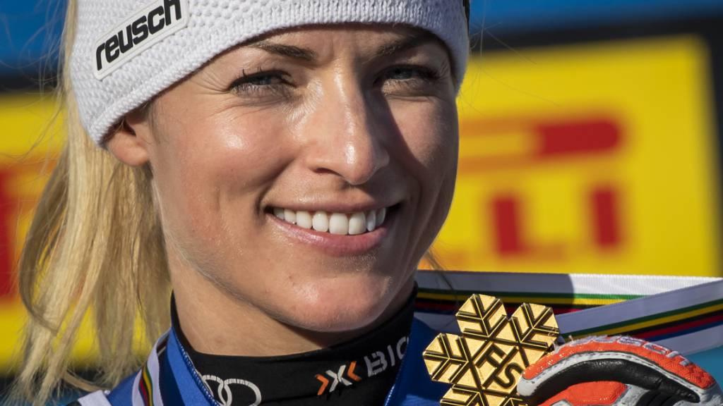 Lara Gut-Behrami strahlt mit WM-Gold