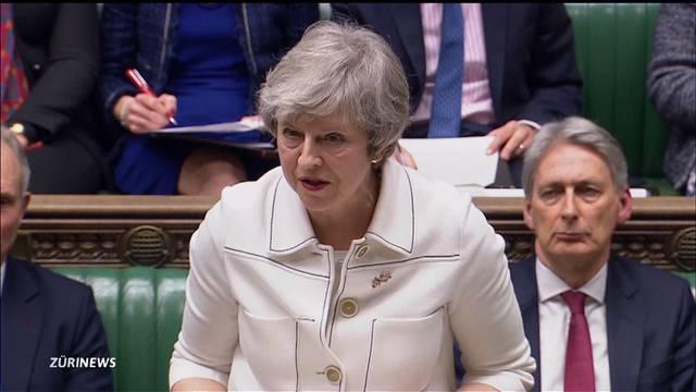 Historische Niederlage für Theresa May