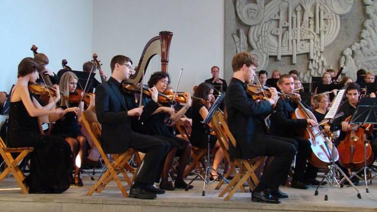 Das Jugend-Sinfonieorchester Aargau begeisterte in Möhlin.