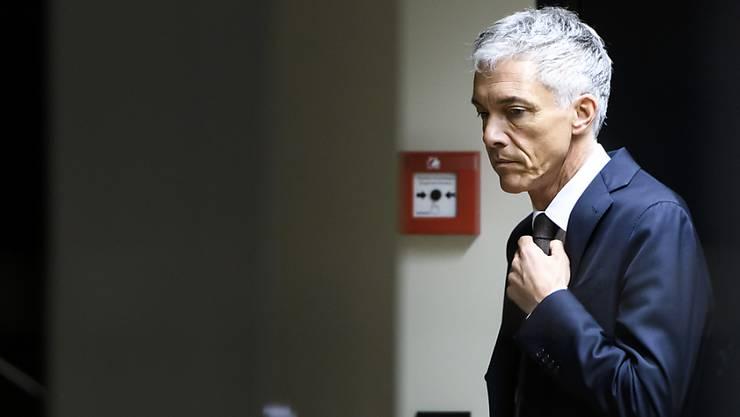Tritt nach Urteil des Bundesverwaltungsgerichts ab: Bundesanwalt Michael Lauber. (Archivbild)