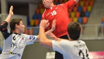 Kaum zu halten: Dimitrij Küttel (18) erzielte acht Treffer.