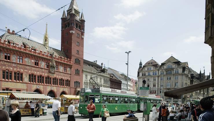 Die Stadt Basel musste einen Rückgang der Logiernächte hinnehmen.