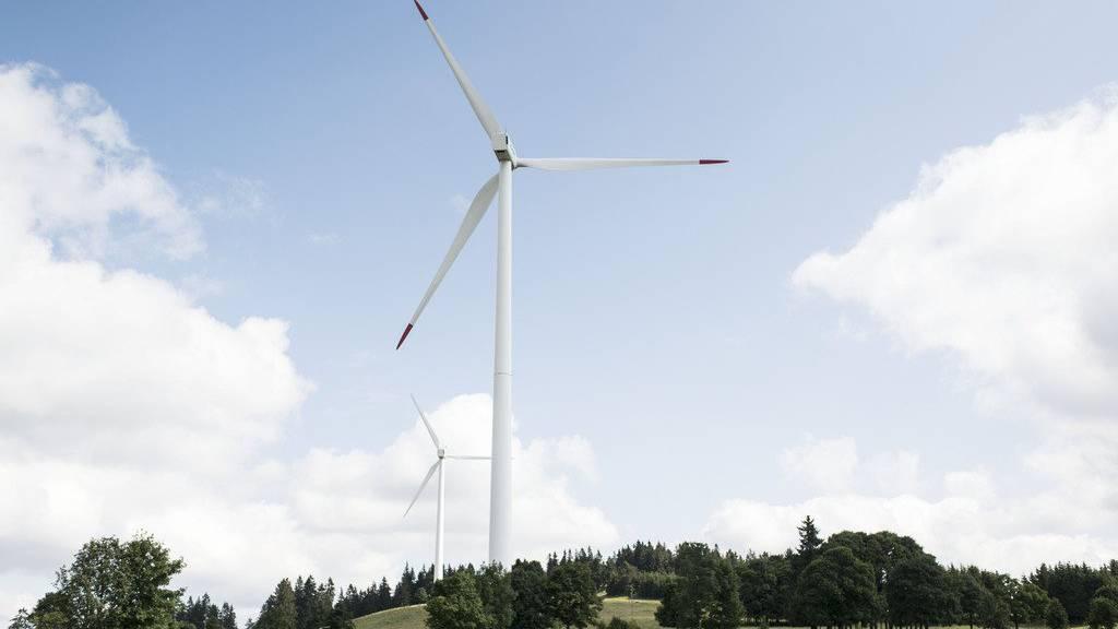 Ein Windpark wie im Berner Jura könnte ab 2021 auch in Thundorf stehen.