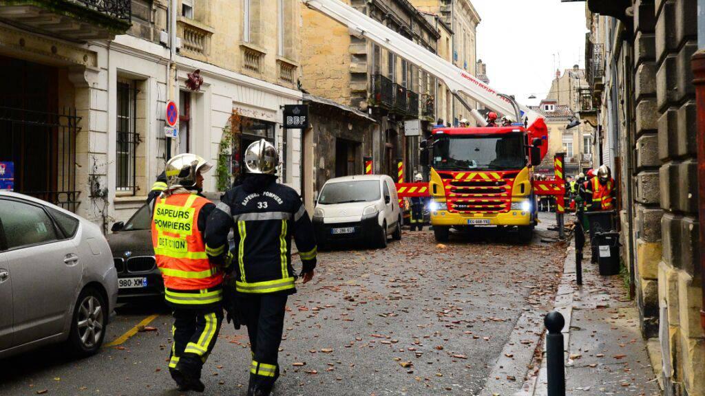 «Er lag noch im Bett»: Tödliche Explosion erschüttert Bordeaux