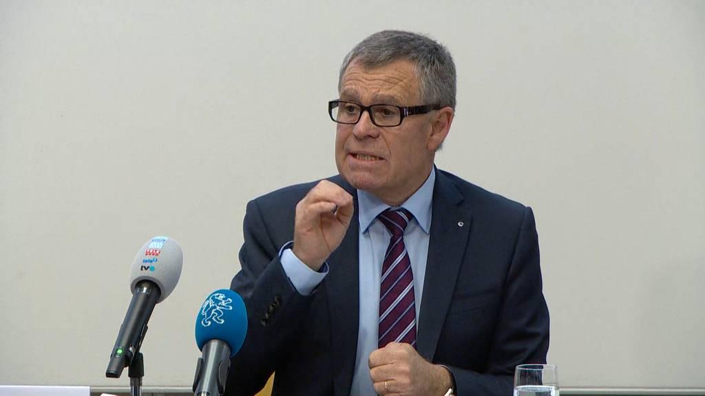 Der Zürcher Regierungsrat präsentiert sein Corona-Massnahmenpaket