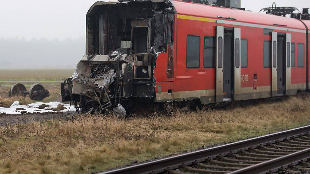 Auf den vorausfahrenden Güterzug aufgefahren: Unfall auf Schienen in Serbien. (Symbolbild)