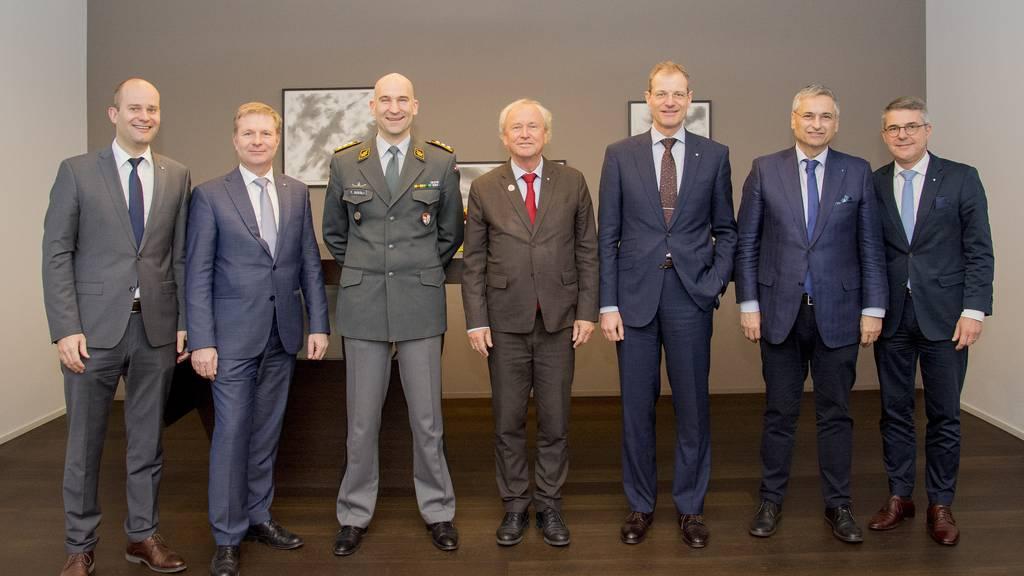 Armeechef besucht Luzerner Regierungsrat