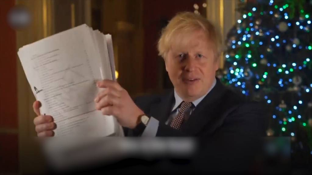 Endlich: An Heiligabend steht der Brexit-Deal
