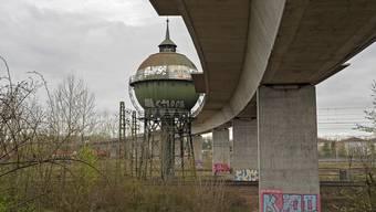 Der Wasserturm auf dem DB Areal Weil/Haltingen soll restauriert werden.