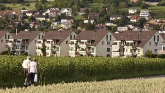 Ein Blick auf Bassersdorf (Archiv)