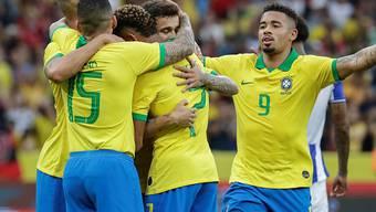 Brasilianischer Torjubel zum Auftakt der Copa America