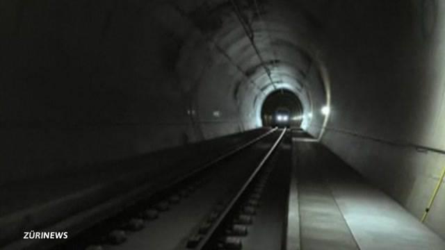 Bahntunnel Zürich-Aargau