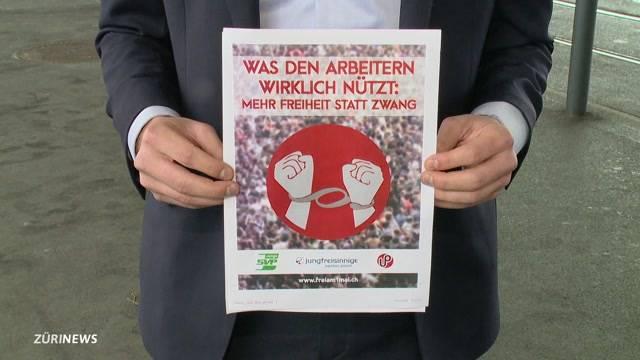 Stadtpolizei verhindert Kundgebung der Jungfreisinnigen am 1. Mai
