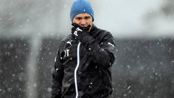Drei weitere Jahre bei den Grasshoppers: Pierluigi Tami will bei den Zürchern auch in Zukunft «junge Spieler entwickeln und langsam nach oben führen». keystone
