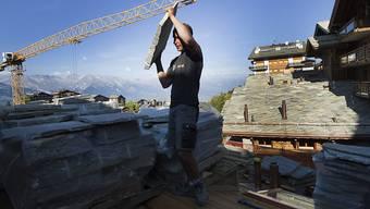 2013 ging die Zahl der Firmenneugründungen im Baugewerbe stark zurück (Archiv)