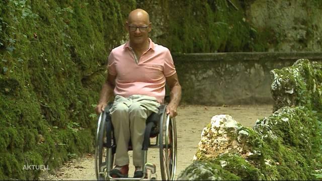 Verenaschlucht ist nun Rollstuhlgängig