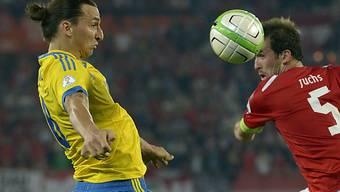 Zlatan Ibrahimovic mit Schweden in Zugzwang
