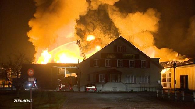Brand Egnach: Polizei geht von Brandstiftung aus