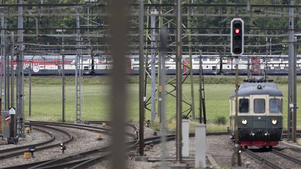 «Bahnanschluss Mittelland» fordert Einsatz für Strecke Aarau-Zürich