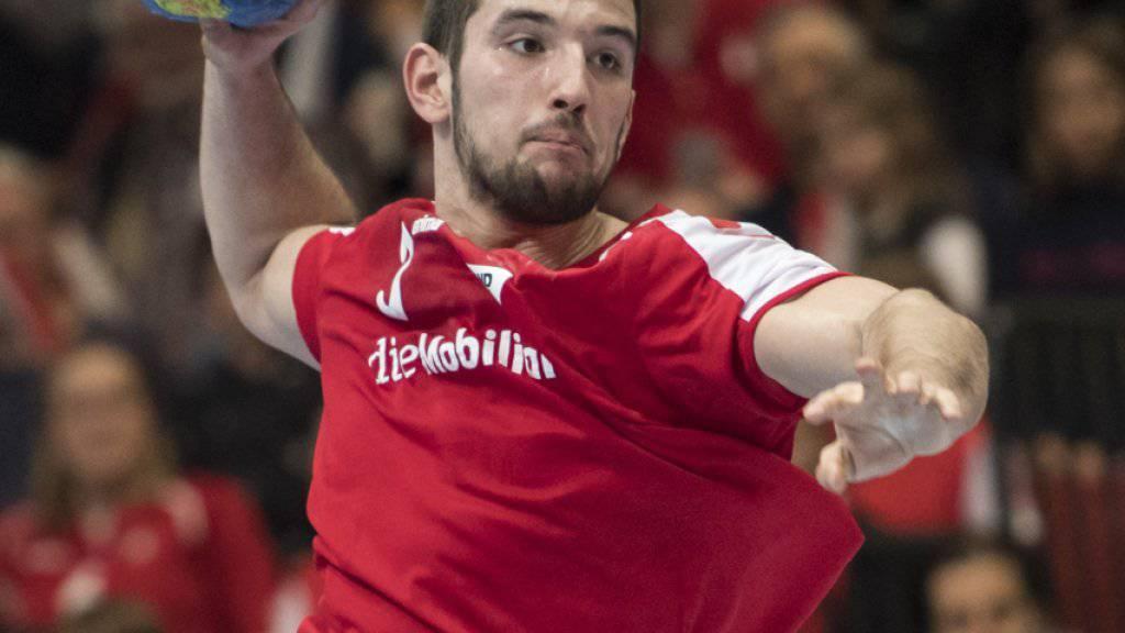 Lucas Meister stand bislang 32 Mal für die Schweizer Nationalmannschaft im Einsatz
