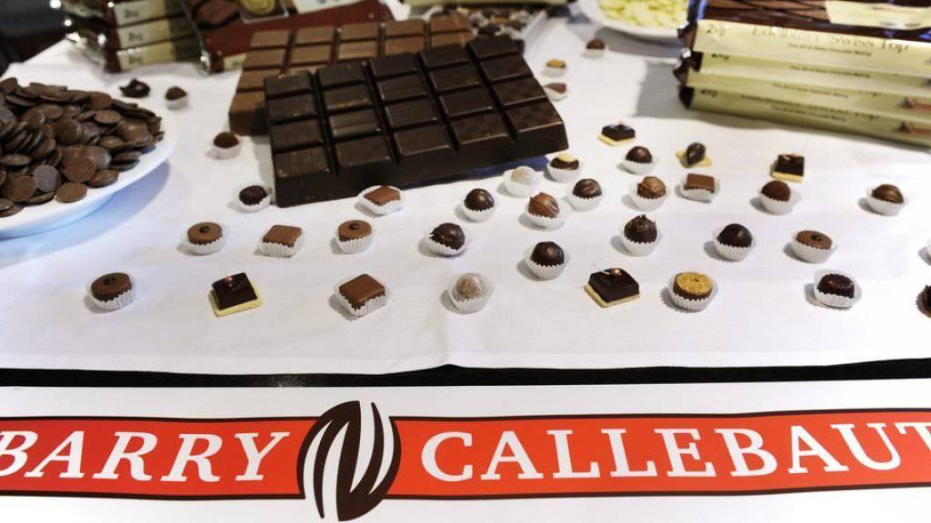 Barry Callebaut wächst weiter: Der Schokoladenproduzent steigert Verkauf und Umsatz im ersten Quartal. (Archiv)