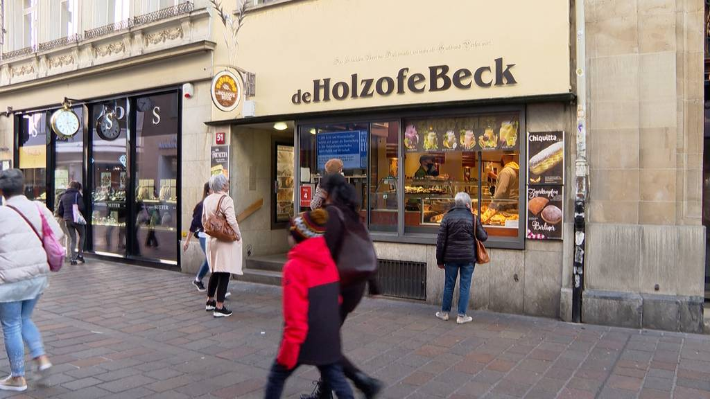 Bäcker in Winterthur macht Werbung gegen die Corona-Massnahmen