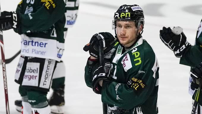 Eishockey: Swiss League, Playoffs 1/4-Final, EHC Olten - SC Langenthal (19.02)