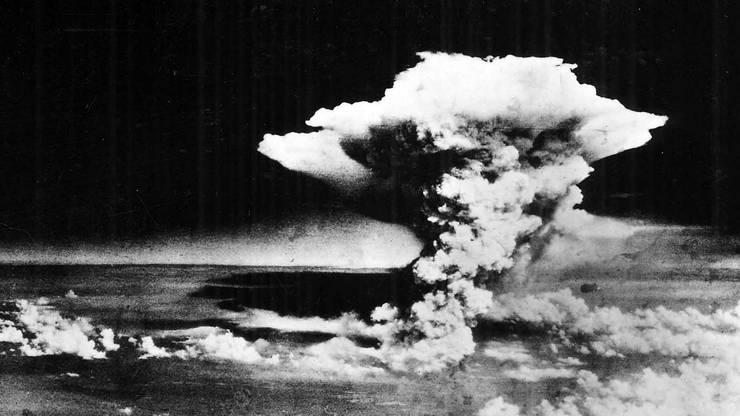 6. August, 8.15 Uhr: Die Bombe detoniert in Hiroshima, das US-Militär hält den Moment fest.