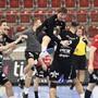 Handball, Cup-Viertelfinal: Pfadi Winterthur - HSC Suhr Aarau (20.11.2019)