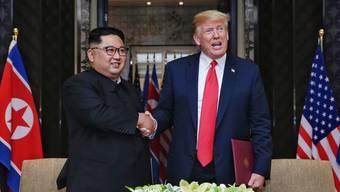 Impressionen vom Gipfeltreffen zwischen Donald Trump und Kim Jong Un