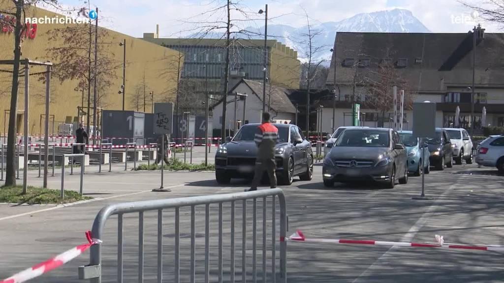 Luzern bekommt wieder ein Drive-in Testcenter