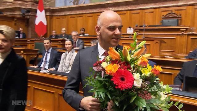 Alain Berset ist neuer Bundespräsident