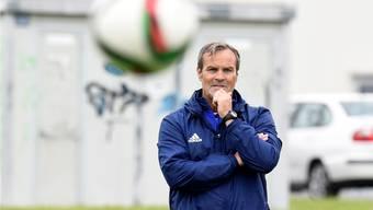 Wohlens Trainer Martin Rueda freut sich auf das Heimspiel gegen Schaffhausen.