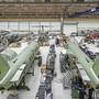 Mühe mit dem Gesetz: Produktionshallen des PC-24 bei den Pilatusflugzeugwerken in Stans.