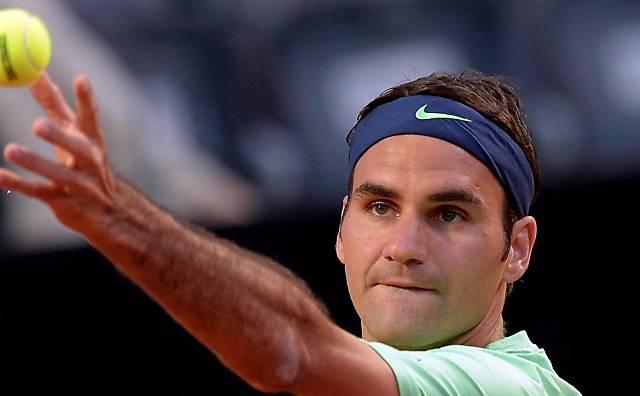 Roger Federer bekundete gegen Starace keine Mühe
